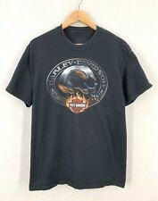 Vintage Harley Davidson Motorcycles Escape From Alcatraz T-Shirt Sz L
