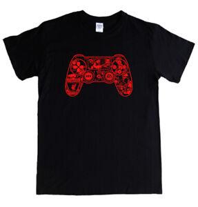 LIVERPOOL PS4 PAD T-shirt - S - 5XL - FIFA salah mane firmino van dijk alisson