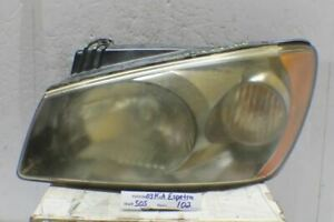 2004-2006 Kia Spectra Sedan 4 Door Left Driver OEM Head Light 02 5O5