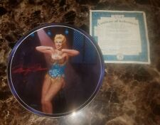 "Marilyn Monroe ""Cherie, The Chanteuse"" Bradford Exchange Plate"