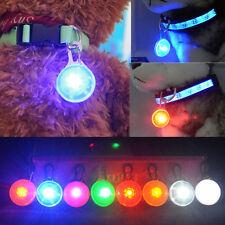 Fascinating Pet Dog Cat Puppy LED Flashing Collar Safety Night Light Pendant W8