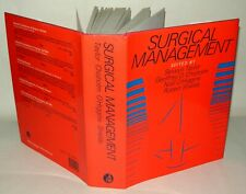 Surgical Management - Selwyn Taylor - Hardback Book with DJ, 1984, Signed.