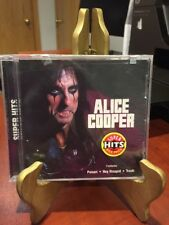 ALICE COOPER:  SUPER HITS (cd, 1999, Sony Records) Mfg. Sealed