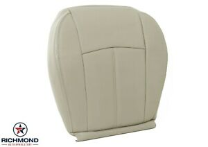 2007 2008 Chrysler Sebring-Driver Side Bottom Replacement Leather Seat Cover Tan