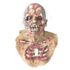 Halloween Scary Blood Old Men Latex Mask Ghost Face Costume Zombie Prank Toys