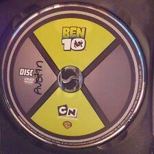 Ben 10: Season 1 (DVD, 2007, 2-Disc Set) Discs only! No case.