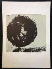 Heinrich Modersohn, Moment der Ballung, Holzschnitt, 1987, signiert und datiert