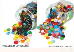 Counters 22mm 100p **Choose a Single Colour** Maths Teacher Resource