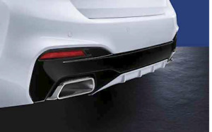 Genuine BMW M Performance Rear Diffuser 5 Series G30 PN: 51192412406 & 409 UK