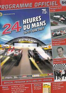 Le Mans 24 Hours 2006, 2007 & 2009 x3 Official Programmes