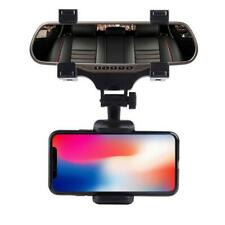 Universal Car Rear-view Mirror Mount Holder Cradle IPhone Samsung Phone GPS 360°