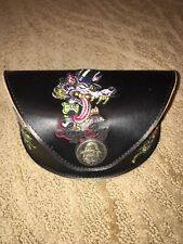 Classic Ed Hardy Sunglass Case-Skull, Wolf, and Roses
