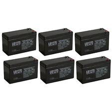 UPG 12V 7Ah Battery Replaces Razor Pocket Mod Vapor Electric Scooter - 6 Pack