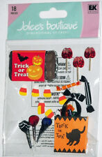 JOLEE'S BOUTIQUE TRICK OR TREAT #2 DIMENSIONAL STICKERS  BNIP