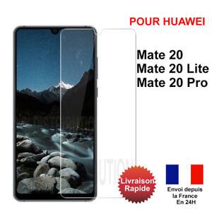 Verre trempé Huawei Mate 20 Mate 20 Lite Mate 20 Pro vitre film protection écran
