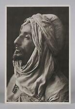 Rare Orientalist Photograph by Andreas D.Reiser / Bedouin Arab Man - Circa 1895