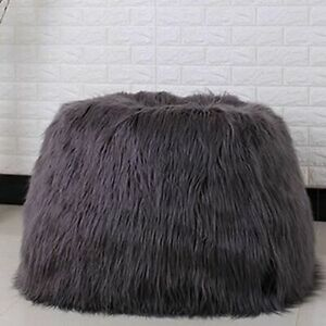 Bean Bag Lounger Cover Living Room Furniture Sofa Chairs Without Filling Beanbag
