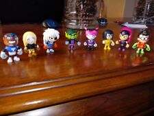 "Teen Titans GO! 2"" Mini Figure Full Set of 8 ~Series 3~"