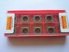 10 Sandvik carbide tips SPMT 12 04 08-UM 1125 (SPMT 120408 SPMT432 432 stainless
