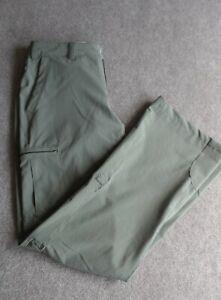 REI Outdoor Cargo Pants Women size 6 Green Fishing Outdoor Hiking  Fold Up