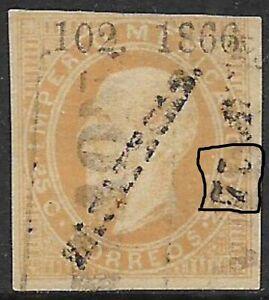 MEXICO -1866, MAXI.- 25c., 102-1866, ZZACATECAS, SUB-75 AGIASCALIENTES, USED