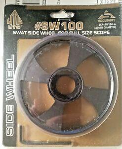 UTG #SW100 100mm Add-On Index Wheel for Swat Side Wheel AO Scope - Black NEW