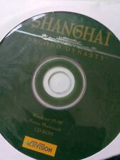 Shanghai Second 2nd Dynasty - PC CD-ROM Game CD ROM DISC ONLY & SLEEVE CASED