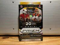 2020 Prizm Football NFL Hanger Box - Walmart Red Ice (New + Sealed!)🏈🏈🔥🔥