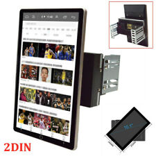 10.1'' 2DIN Rotatable Android 9.1 Wifi 1G+16G Car Stereo Audio Radio GPS Player