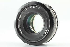 Read! 【Exc+5】 NIKON AIS NIKKOR 50mm F/1.8 Pancake MF Lens F Mount JAPAN #642