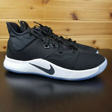 sports shoes 59aa9 09675 New ListingNike PAUL GEORGE PG 3 BASKETBALL Men s Size 9.5 Black Black-White  AO2607-001