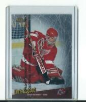 rare CHRIS OSGOOD detroit red wings FINEST TOUCH CARD with protective film