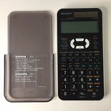 Sharp Advanced D.A.L. EL-520X Solar Calculator