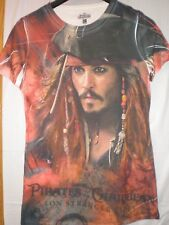 Pirates Of The Carribean Jack Sparrow T SHIRT XLARGE
