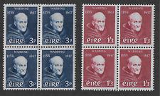 Ireland 1957 Sc163-164; SG170-171; 3p + 1/-3p Wadding UNMOUNTED Mint OG Cat.£100