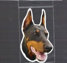 Doberman Pinscher 4 inch face magnet for car or anything metal New