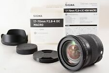 Sigma 17-70mm F2.8-4 DC MACRO OS HSM for Pentax      (3860)