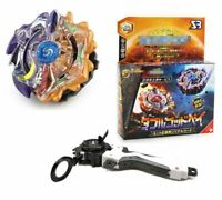 Beyblade Burst Double God Bey Duo Eclipse Apollos Artemis W/ Launcher + Grip Toy