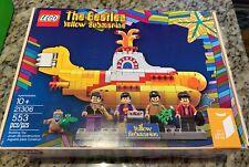 LEGO 21306 The Beatles Yellow Submarine BNIB NEVER OPENED - FREE SHIPPING !