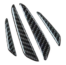 Universal Carbon Fiber Car Door Side Edge Guard Protection Trim Stickers Decals