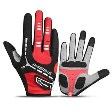 5mm Gel Bicycle Gloves Touch Screen Full Finger Mountain Bike Gloves Men Gel Pad