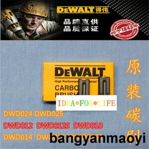 1X FOR DEWALT DWD025 DWD024 DWD014 DWD015 DWD016 DWD012 carbon brush