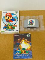 Super Mario 64 Nintendo 64 N64 Boxed Japanese Version From Japan