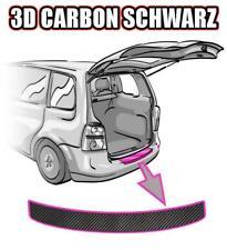 Renault Clio 3 Ladekantenschutz ab 2005-09 3D CARBON SCHWARZ