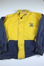Vintage Nutmeg Notre Dame Fighting Irish Jacket Mens Size L Color Block Crest