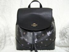 Disney X Coach Elle Backpack in Signature Canvas With Dalmatians 91127
