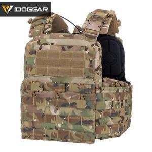 IDOGEAR Tactical Vest Cherry Plate Carrier CPC Camo Molle MultiCam Military Camo