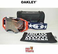 OAKLEY® AIRBRAKE™ PRIZM™ GOGGLES MX MOTOCROSS TROY LEE LIBERTY MIRROR OO7046-71