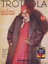 Ermanno Sudermann, Trottola, Mondadori, I romanzi della palma,1932, romanzo rosa