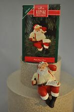Hallmark - Please Pause Here - Santa Drinking Coke - Keepsake Classic Ornament